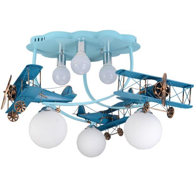 Светильник для детской Карусель самолетов
