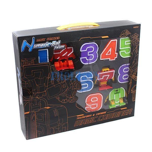 Цифровые трансформеры Numeric-Bot -Трансботы