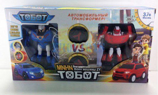 Набор 2 Тобота-мини Y vs Z + 2 игрушки йо-йо