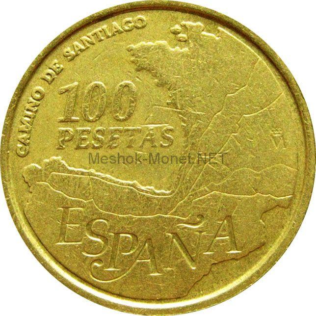 Испания 100 песет 1993 г.