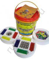 Купить детский магнитный конструктор 96 деталей - Магнастикс