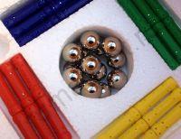 Детский магнитный конструктор Magnastix из 96 деталей