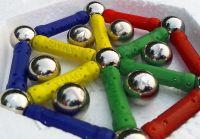 Детский магнитный конструктор 96 деталей - Магнастикс