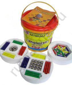 Купить магнитный конструктор для детей - 132 детали