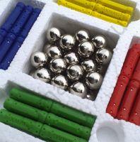Магнитный конструктор набор 186 деталей - палочки и шарики