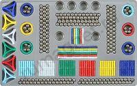 Магнитный конструктор 420 деталей