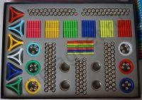 Игрушка магнитный конструктор 420 деталей - MagnetPlus