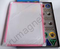 Купить игрушка магнитный конструктор 420 деталей - металлическая доска
