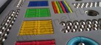 Магнитный конструктор 420 деталей - палочки и шарики