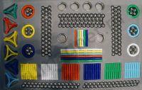 купить детский конструктор на магнитах, 560 деталей в наборе MagnetPlus