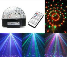СВЕТОДИОДНЫЙ ДИСКО ШАР MP3 LED MAGIC BALL LIGHT