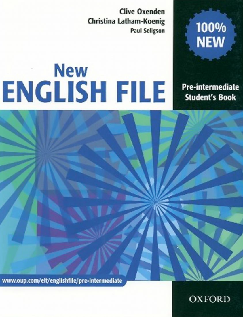 New English File Pre-intermediate Student's Book