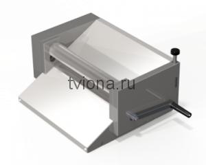 Тестораскаточная машина ручная (нержавейка ) ТРМ- 403РН односторонняя регулировка.
