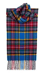 шарф 100% шерсть , расцветка клана Макбет MACBETH MODERN TARTAN
