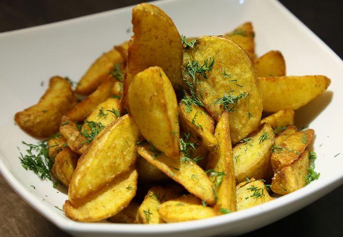 Картофель по - деревенски
