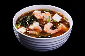 Мисо суп с креветкой