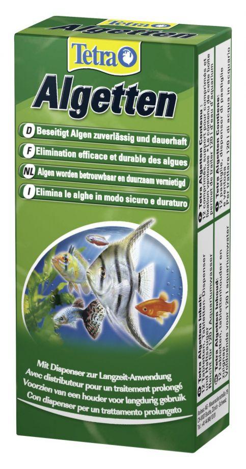 Tetra Algetten для профилактики и уничтожения водорослей 1 таблетка