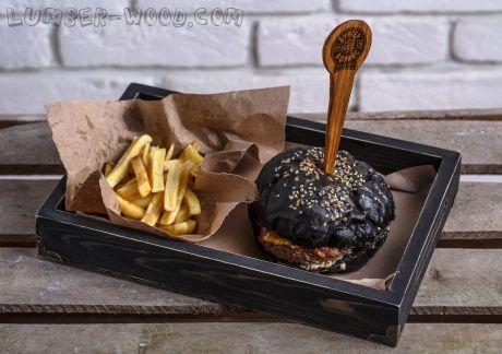 Поднос для гамбургеров и снеков. (без железных уголков) Средний. арт. 520