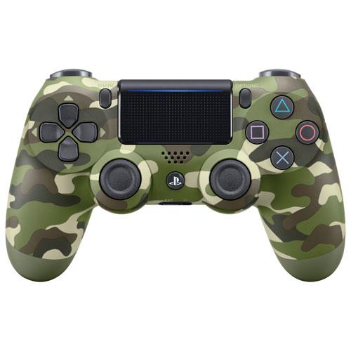 Геймпад Sony Dualshock 4 (ver.2) Green Camouflage (PS4)