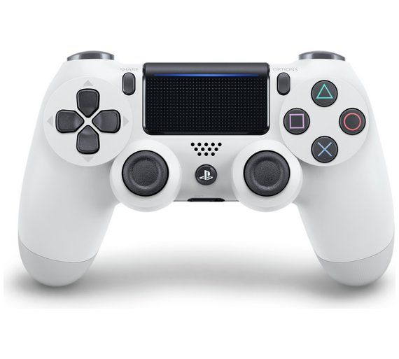 Геймпад Sony Dualshock 4 (ver.2) White (PS4)