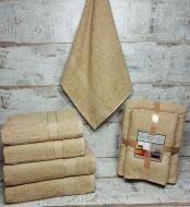 """Набор полотенец  подарочное  """"AISHA"""" №068"""