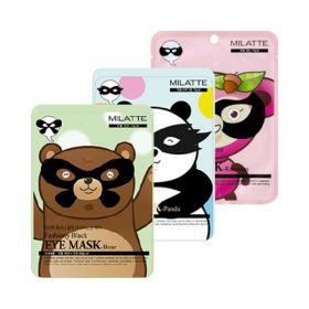 MILATTE Fashiony Black Eye Mask 10g - Маска-патч для лица