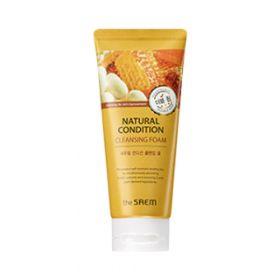 The Saem Natural Condition Cleansing Foam Double Whip 150ml -особо пышная пенка для очищения кожи лица