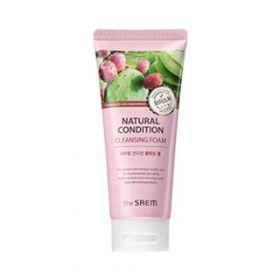 The Saem Natural Condition Cleansing Foam Moisture 150ml - увлажняющая пенка для очищения кожи лица