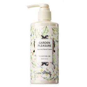 The Saem Garden Pleasure Jasmine Hand Cream 300ml -увлажняющий крем для рук с жасмином