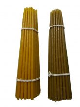 Свечи восковые первый сорт содержание пчелиного воска 70% цена 300 рублей за 1 кг