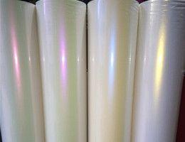 Хамелеон матовый перламутр Фиолетово-белый (Сатин)