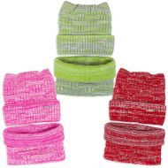 Комплект  для девочки 6-12 лет( шапка, снуд) №SG111А