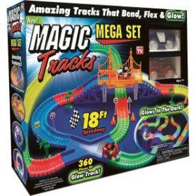 Светящийся Magic Tracks Mega Set 360 Деталей