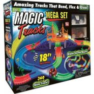 Светящийся Magic Tracks Mega Set 360 Деталей
