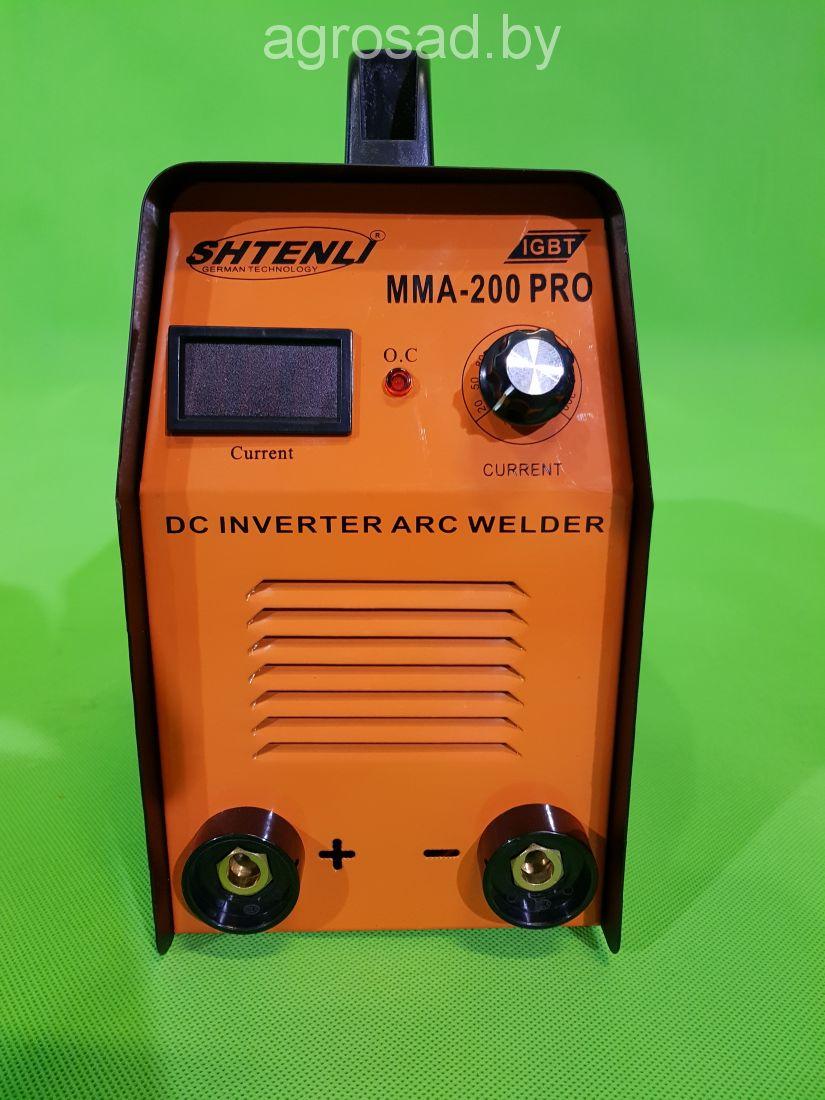 Сварочный аппарат SHTENLI MMA-200 PRO