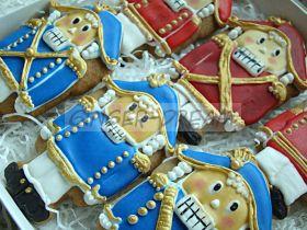 """Новогодние пряники в наборах """"Щелкунчик"""" - Кондитерские подарки Ginger Dream"""