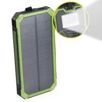 Внешний аккумулятор Power bank Solar Charger 20000 mAh на солнечных батареях