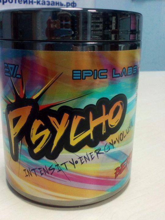 Предтренеровочный комплекс Psycho 20п. Ягоды (Epic Labs)
