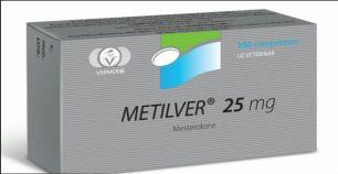 Метилвер  25мг 25т
