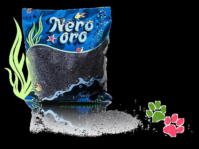 Грунт  Nero oro черный  800г