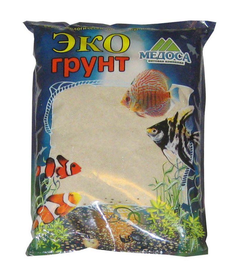 """ЭКО Грунт """" Песок кварцевый белый"""" 1 кг"""