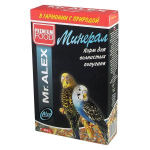 Корм Mr.Alex Минерал для волнистых попугаев 500гр