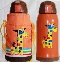 Термос детский Zoo 600 мл в чехле жираф