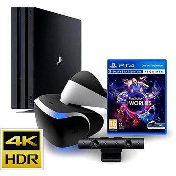Игровая приставка Sony Playstation 4 Pro 1TB (CUH-7108B) + Playstation VR + Camera V2 + 2 игры