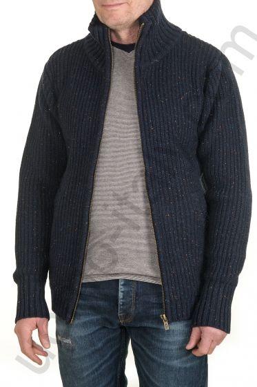 Вязаная куртка-джемпер Amsterdenim
