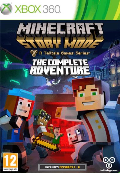 Игра Minecraft Story Mode The Complete Adventure (Xbox 360)