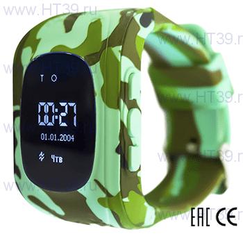 Детские часы Smart Baby Watch Q50 Military