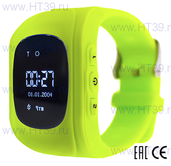 Детские часы Smart Baby Watch Q50 Green