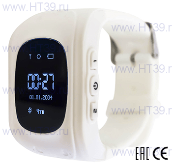 Детские часы Smart Baby Watch Q50 White