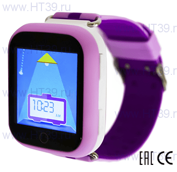 Детские часы Smart Baby Watch Q90 (Q100) Pink